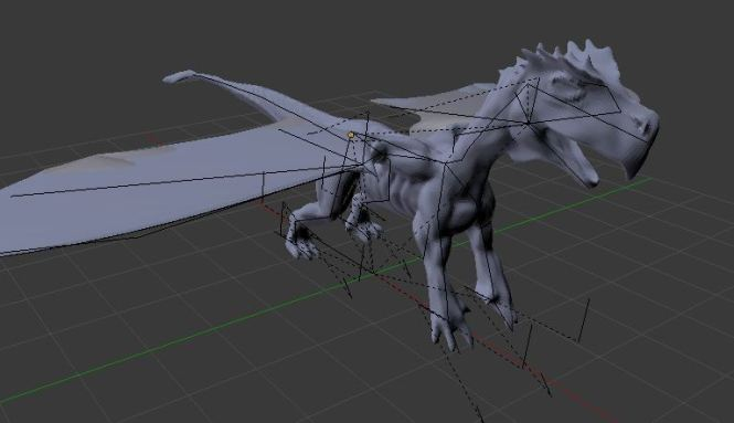dragon sculp rig clip1